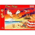 1000 pcs - Fun at the Beach - Stam and Pilou (by Puzzelman)