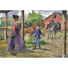 Jigsaw puzzle 1000 pcs - Porch - The Bluecoats (by Puzzelman)