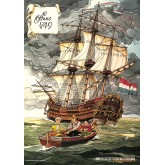 Jigsaw puzzle 1000 pcs - Fear on the Amsterdam - Willy and Wanda (by Puzzelman)