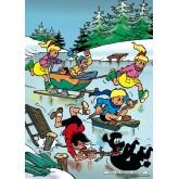 Jigsaw puzzle 99 pcs - Icefun - Jommeke (by Puzzelman)
