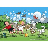 Jigsaw puzzle 99 pcs - Bubbles - Young Spike and Suzy (by Puzzelman)
