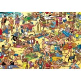 Jigsaw puzzle 1000 pcs - beach - Willems Wereld (by Puzzelman)