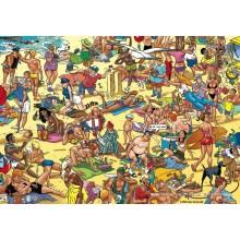 Jigsaw puzzle 1000 pcs - beach - Willems Wereld (by Puzzelman)