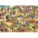 1000 pcs - beach - Willems Wereld (by Puzzelman)