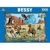 Jigsaw puzzle 1000 pcs - Indians - Bessy (by Puzzelman)