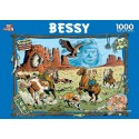 1000 pcs - Indians - Bessy (by Puzzelman)