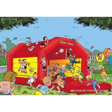 Jigsaw puzzle 16 pcs - Bouncing - Young Spike and Suzy (by Puzzelman)