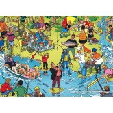 Jigsaw puzzle 1000 pcs - Fishing - Willems Wereld (by Puzzelman)