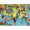 1000 pcs - Fishing - Willems Wereld (by Puzzelman)