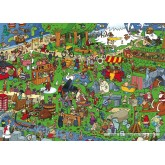 Jigsaw puzzle 1000 pcs - Europe - Comic Books (by Puzzelman)