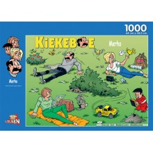 Jigsaw puzzle 1000 pcs - The Garden - The Kiekeboes (by Puzzelman)