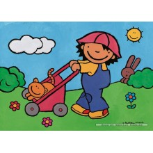 Jigsaw puzzle 16 pcs - Noa in the Garden - Floor puzzles (by Puzzelman)