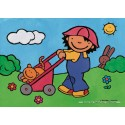 16 pcs - Noa in the Garden - Floor puzzles (by Puzzelman)