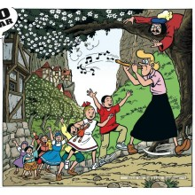 Jigsaw puzzle 200 pcs - flute - Comic Books (by Puzzelman)