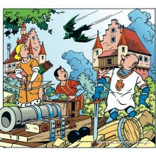 Jigsaw puzzle 200 pcs - Bat - Willy and Wanda (by Puzzelman)