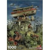 Jigsaw puzzle 1000 pcs - Arche of Noah - Van Dokkum (by Puzzelman)