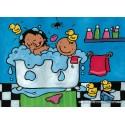 16 pcs - Noa in Bath - Floor puzzles (by Puzzelman)