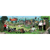 Jigsaw puzzle 1000 pcs - Island of Amoras - Willy and Wanda (by Puzzelman)