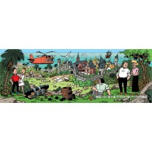 Jigsaw puzzle 1000 pcs - Island of Amoras - Willy and Wanda (by Puzzelman)