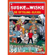 Jigsaw puzzle 99 pcs - The Fairies of the Efteling - Willy and Wanda (by Puzzelman)