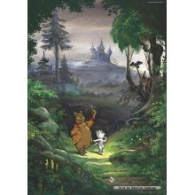 Jigsaw puzzle 1000 pcs - In the Woods - Bommel (by Puzzelman)