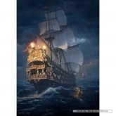 Jigsaw puzzle 1000 pcs - On the High Seas - Sarel Theron (by Schmidt)