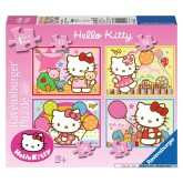 Jigsaw puzzle 12 pcs - Hello Kitty - Progressive (by Ravensburger)