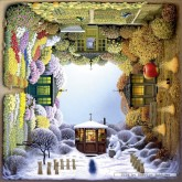 Jigsaw puzzle 1000 pcs - The Four-Seasons Garden - Jacek Yerka (by Schmidt)