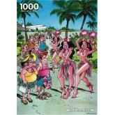 Jigsaw puzzle 1000 pcs - Hawaii - Red Ears (by Puzzelman)