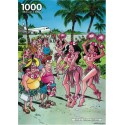 1000 pcs - Hawaii - Red Ears (by Puzzelman)