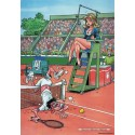 1000 pcs - Tennis - The Champions (by Puzzelman)
