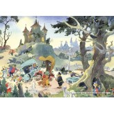 Jigsaw puzzle 1000 pcs - Accident in the woods - Bommel (by Puzzelman)