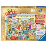 1000 pcs - The Village Hall - What If (by Ravensburger)