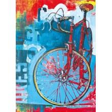 Jigsaw puzzle 1000 pcs - Red Limited - Bike Art (by Heye)