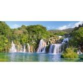 Jigsaw puzzle 4000 pcs - Krka Waterfalls, Croatia (by Castorland)