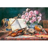 Jigsaw puzzle 1500 pcs - A Musical Still Life (by Castorland)