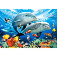 Jigsaw puzzle 1500 pcs - Beneath the Waves (by Castorland)