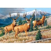Jigsaw puzzle 1500 pcs - Up the Mountain (by Castorland)