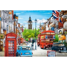 Jigsaw puzzle 1500 pcs - London (by Castorland)