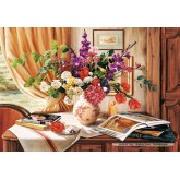 Jigsaw puzzle 1000 pcs - AFTERNOON LIGHT (by Castorland)