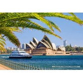 Jigsaw puzzle 1000 pcs - The Sydney Opera House (by Castorland)