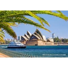 Jigsaw puzzle 1000 pcs - The Sydney Opera House (by Castorland)