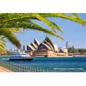 1000 pcs - The Sydney Opera House (by Castorland)