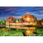 Jigsaw puzzle 1000 pcs - Malbork Castle  (by Castorland)