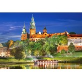 Jigsaw puzzle 1000 pcs - Wawel Castle by Night (by Castorland)
