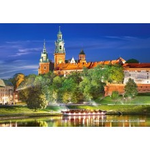 Jigsaw puzzle 1000 pcs - Wawel Castle by Night (by Castorland)