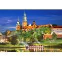 1000 pcs - Wawel Castle by Night (by Castorland)