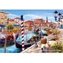 1000 pcs - Venetian Canal (by Castorland)