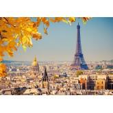 Jigsaw puzzle 1000 pcs - Autumn in Paris (by Castorland)