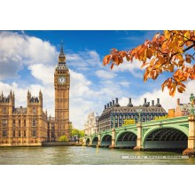 Jigsaw puzzle 1000 pcs - The Heart of London  (by Castorland)